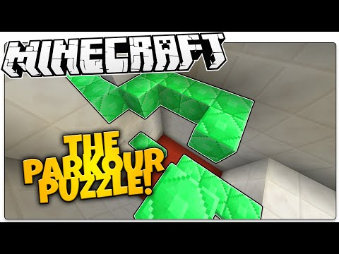 Minecraft | The Parkour PUZZLE! | Blocks With Secrets (Minecraft Custom Map)