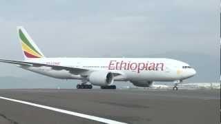 The ETHIOPIAN AIRLINES Fleet @ Addis Ababa