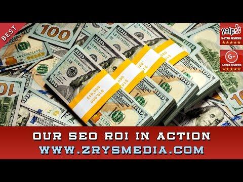 SEO & Internet Marketing Return On Investment - Sacramento SEO Company ZrysMedia - 707-761-5849