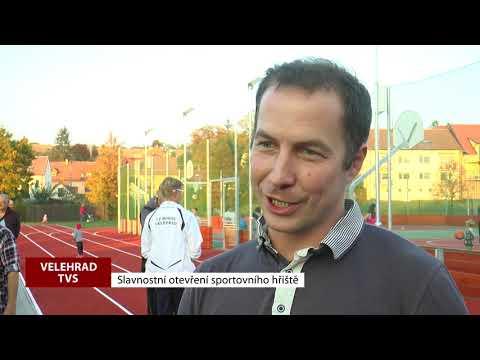 TVS: Velehrad - Otevření sportovního hřiště