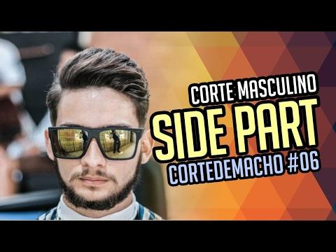 Corte de cabelo Masculino Side Part - CORTEDEMACHO #06
