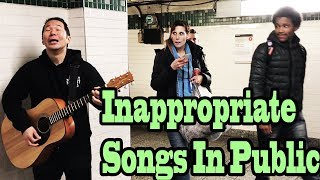 Video SINGING INAPPROPRIATE SONGS in the NYC SUBWAY (SINGING IN PUBLIC) MP3, 3GP, MP4, WEBM, AVI, FLV Mei 2018