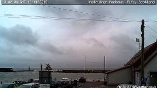 13 November 2015 - Anstruther WeatherCam Timelapse