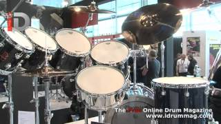 http://bit.ly/iDrum_MusikMesse_2012 An overview of the Premier XK Boomer drum kit designed by Nicko McBrain drummer of Iron ...