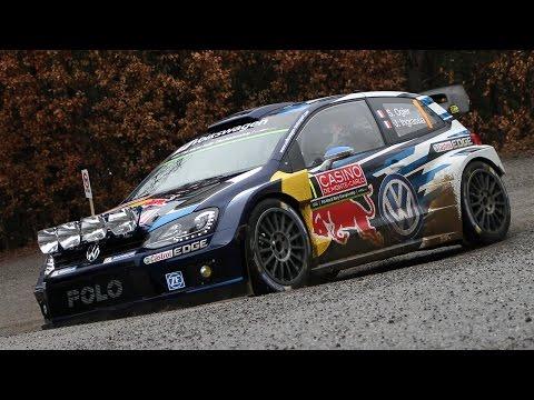 WRC Rallye Monte Carlo 2015 - Shakedown - Pure Sound [HD]