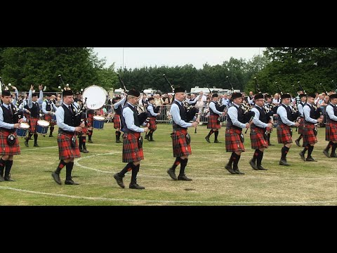 SCOTTISH - The 2014 Scottish Pipe Band Championships were held in the beautiful surroundings of Levengrove Park in Dumbarton on Saturday 26 July. This video documents t...