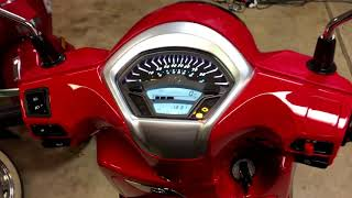 2. Kymco Like 150 abs ClevelandMoto Unboxing and Initial impressions