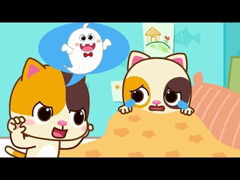 Timi, Don't Be Afraid, It's Not A Monster | Baby Kitten's One Day | Learning Video For Kid | BabyBus