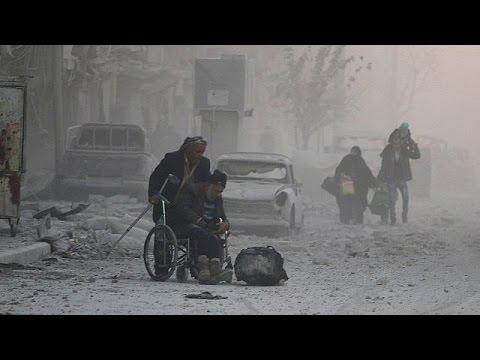 Χαλέπι: Η μεγάλη έξοδος των αμάχων