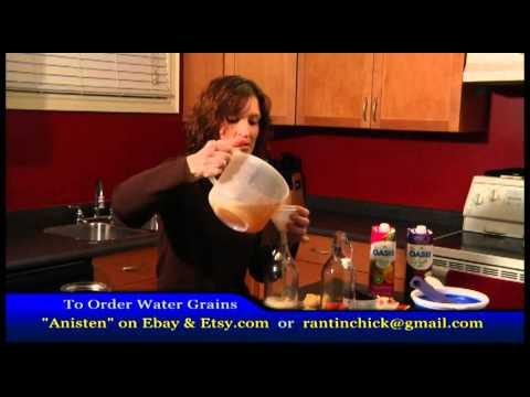 Water Kefir Instructions Part 2 Second Fermentation