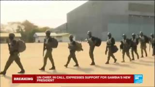 Gambia: Senegalese troops have entered the country to force the former president Yahya Jammeh to step down.