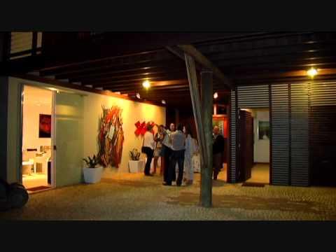 Joy Joy Bistrô.Localizado no centro histórico de São José. O projeto é da arquiteta Juliane Guenther