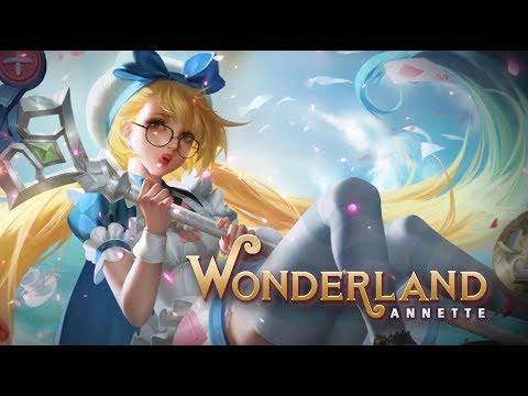 Annette New Skin: Wonderland