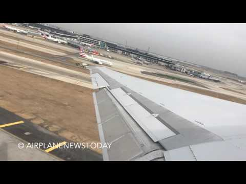Delta Air Lines, MD-90, Takeoff from Chicago O'Hare (HD)