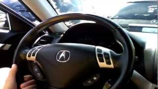 2008 Acura TSX Start Up, Quick Tour,&Rev With Exhaust View - 41K