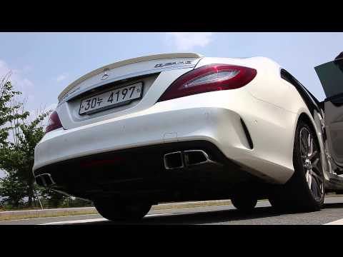 Mercedes-Benz CLS 63 AMG S 4MATIC  stock exhaust sound