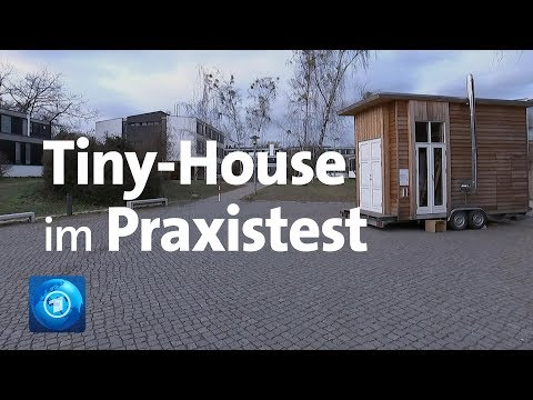Tiny House: Studenten in Berlin machen den Praxistest