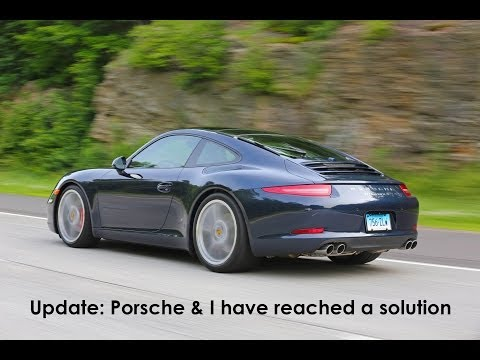 911 - Let me update you with the good times I am having with my new Porsche 911.