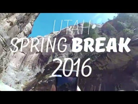 Spring Break in Zion National Park, Bryce Canyon, and Escalante's Slot Canyons