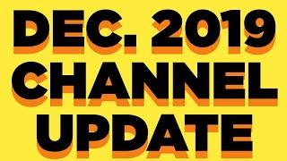 • Merch ON SALE, Thanks COPPA! Channel Updates, Jurassic Park, Hello Neighbor & more (December 2019)