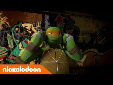 Черепашки-ниндзя   1 сезон 5 серия   Nickelodeon Россия (видео)