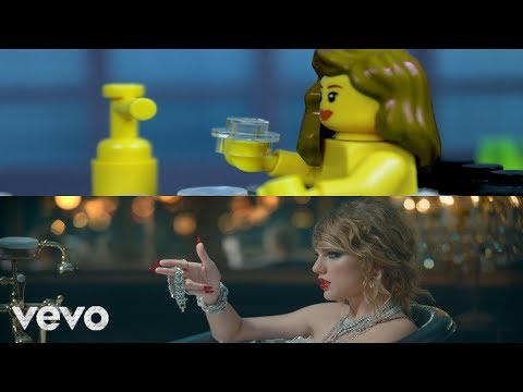 Video LEGO Taylor Swift - Look What You Made Me Do (Comparison) download in MP3, 3GP, MP4, WEBM, AVI, FLV January 2017