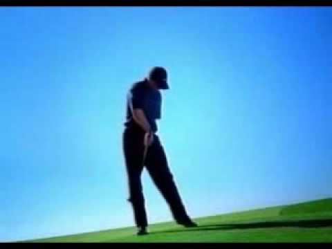 Nike Golf advert bloopers with Tiger Woods - funny