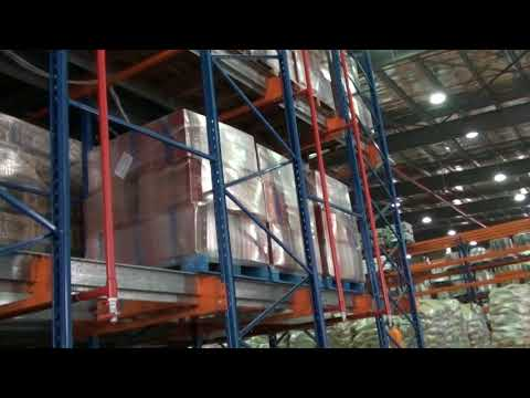 Nutech Shuttle Car Auto-arranging Pallet