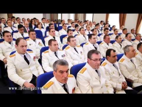 Հանդիսավոր նիստ՝ նվիրված ՀՀ քննչական կոմիտեի ծառայողի օրվան (Տեսանյութ)