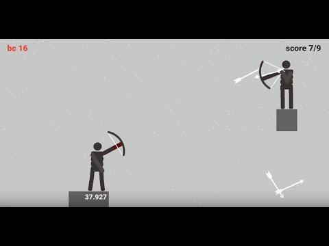 《Stickman Archers: Bloody Rampage》手機遊戲玩法與攻略教學!