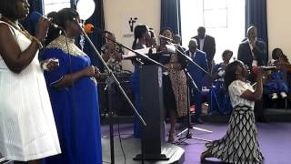 TLPCI UK Area worship time with Mama Diana