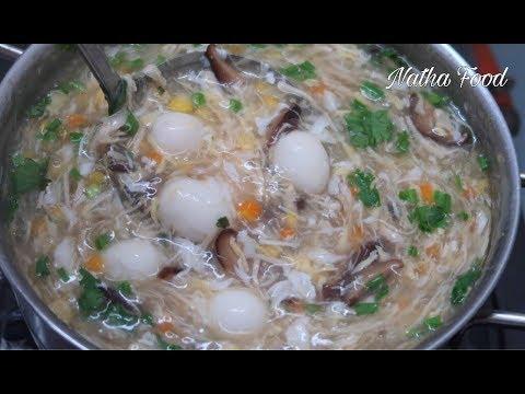 Súp cua, cách nấu súp cua thơm ngon đậm đà, cách nấu  không chảy nước || Natha Food - Thời lượng: 20:34.