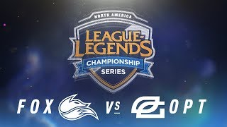 Video FOX vs. OPT - Week 3 Day 2 | NA LCS Spring Split | Echo Fox vs. OpTic Gaming(2018) MP3, 3GP, MP4, WEBM, AVI, FLV Juni 2018