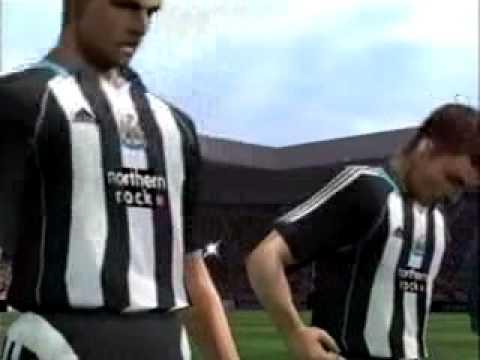 St James' Park en el videojuego PES 6