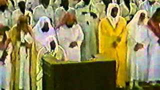 الفاتحة وآية 56 من الأحزاب   تراويح رمضان 1407هـ   الشيخ علي جابر