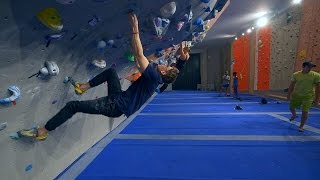 Im Climbing With Samuel Today(vlog) by Eric Karlsson Bouldering