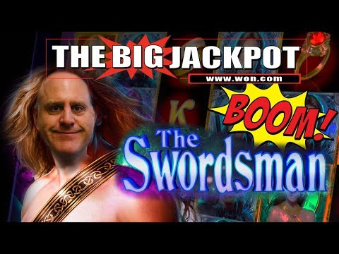 ACTION PACKED SLOT WIN$ on ⚔️ The Swordsman ⚔️ with The Big Jackpot