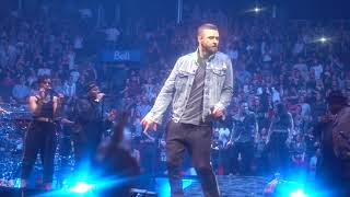 Justin Timberlake - My Love: Man of the Woods Tour in Montreal (04/08/2018)