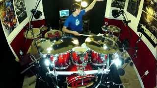 Video Hysteria - Drum Cover - Muse MP3, 3GP, MP4, WEBM, AVI, FLV September 2017