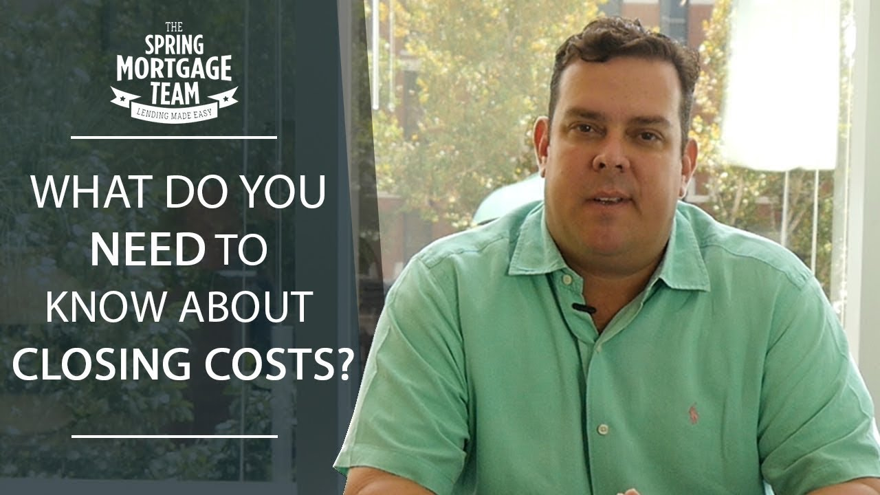 What All Is Included in Closing Costs?