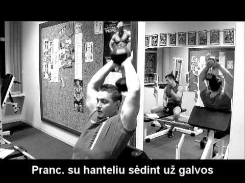 Tricepso pratimai