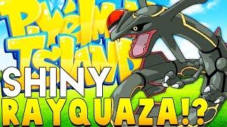 SHINY RAYQUAZA WONDERTRADE - Minecraft PIXELMON ISLAND - Pokemon QUESTS