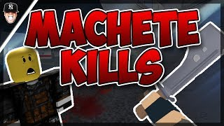 This is an update video on how to level up in the new update. Just kidding, this is just me messing around and doing just machete kills. Enjoy the video. ► C...