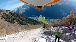 Wingsuit : ce mec rase les montagnes pour