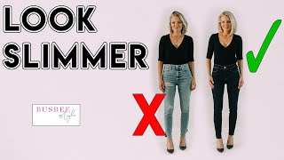 Video How To INSTANTLY Look Slimmer! 10 Style Tricks MP3, 3GP, MP4, WEBM, AVI, FLV Juli 2019