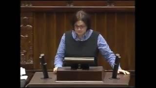 21 listopada 2013 r. – posłanka Małgorzata Sadurska krytycznie o partyjnych działaczach, obsadzanych w spółkach i instytucjach państwowych.