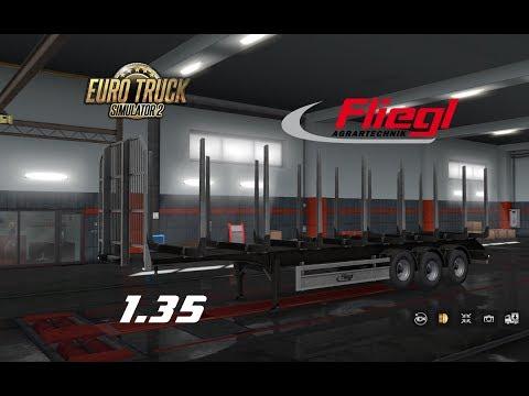 Ownable log trailer Fliegl  v1.0.1