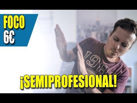 Videos caseros - Luces CASERAS para tus videos  Foco CASERO por 6€