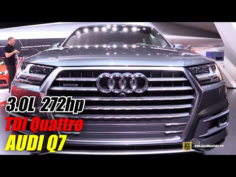 2016 Audi Q7 TDI Quattro – Exterior and Interior Walkaround – Debut at 2015 Detroit Auto Show