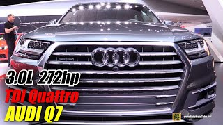 2016 Audi Q7 TDI Quattro - Exterior And Interior Walkaround - Debut At 2015 Detroit Auto Show